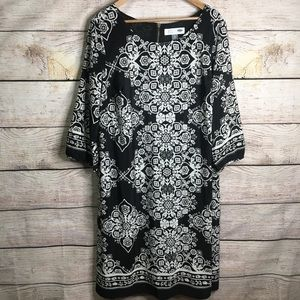 Old Navy Maternity black and white printed dress